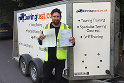 Trailer towing test